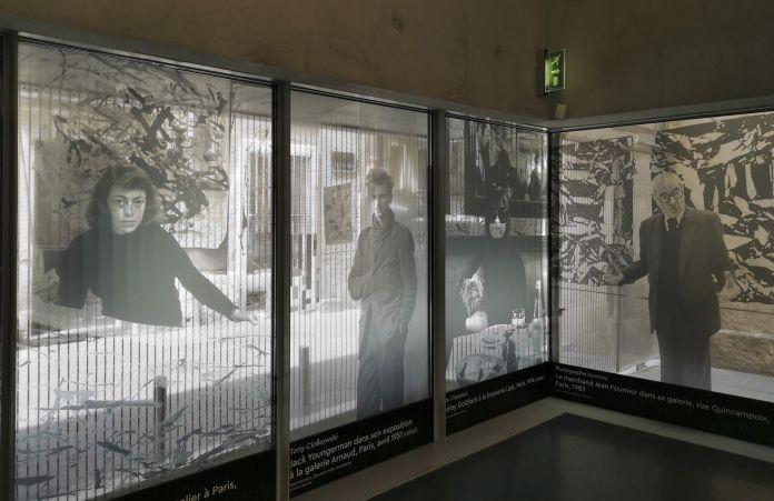United States of Abstraction au Musée Fabre au premier étage