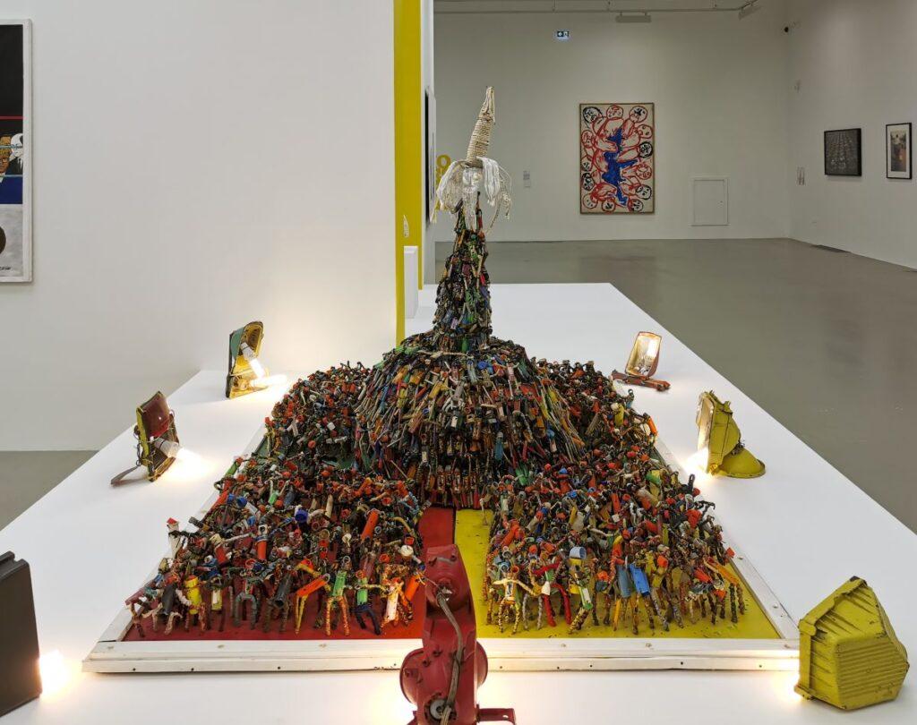 Aston - Catastrophe, 2008 - Distance critique - Cosmogonies - Zinsou, une collection africaine au MOCO-Hôtel des collections