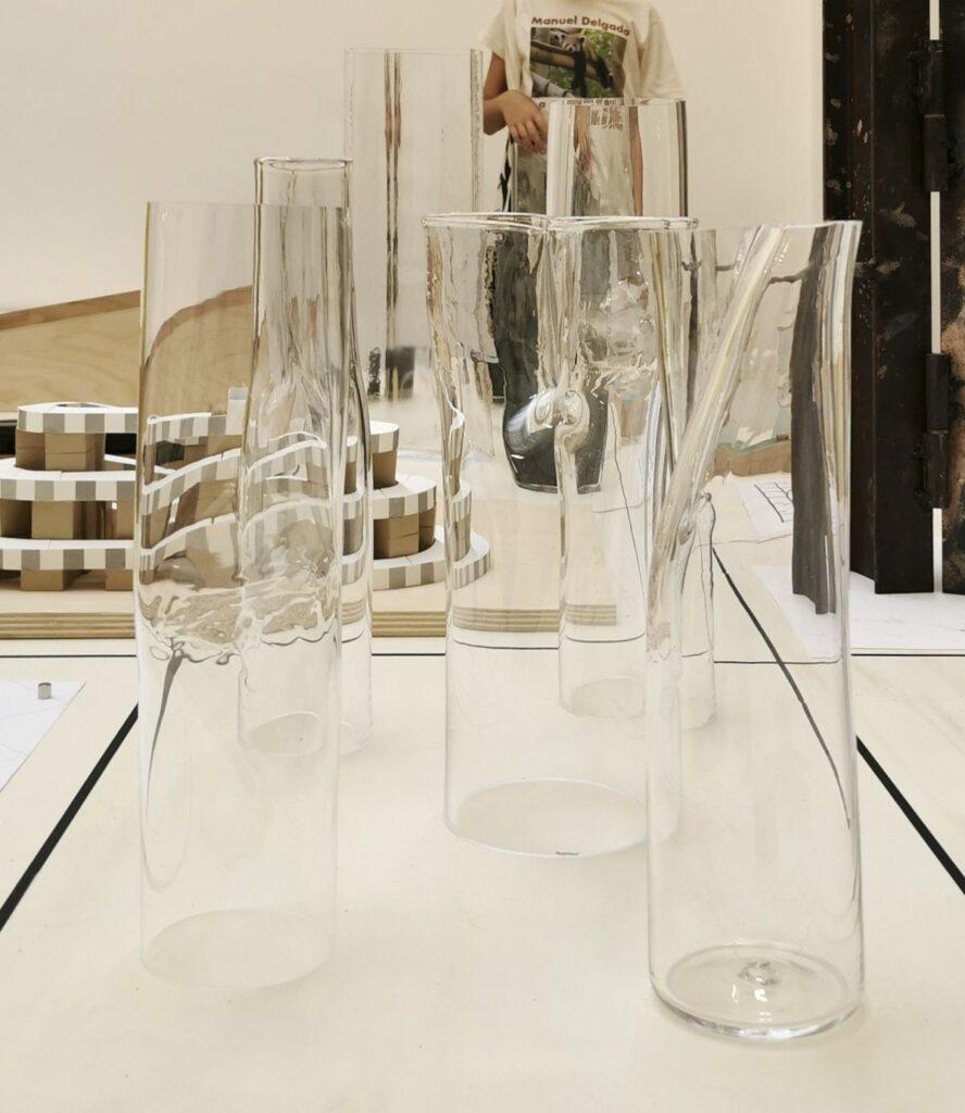 Baptiste Meyniel - Cylindres déformés, Cirva 2020 - Pirouettes au Studio Fotokino – Marseille