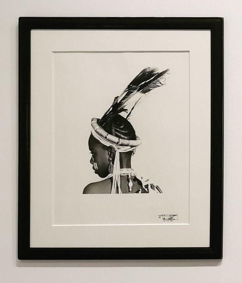 J. D. 'Okhai Ojeikere - Headdress, 1972 - Série Hairstyles - Identité et Mémoire - Cosmogonies - Zinsou, une collection africaine au MOCO-Hôtel des collections