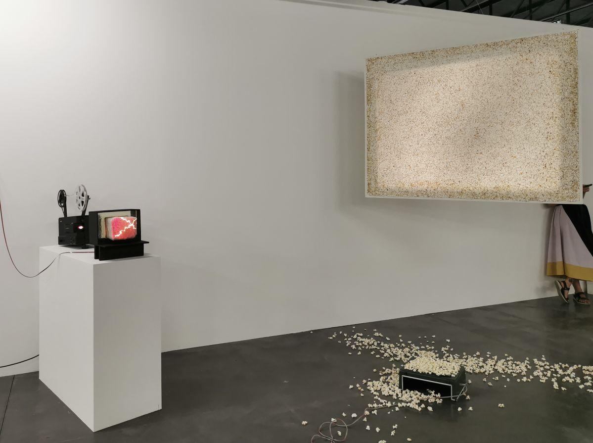 The Film Gallery - Silvi Simon - Art-o-rama 2021 à la Cartonnerie - Friche la belle de Mai