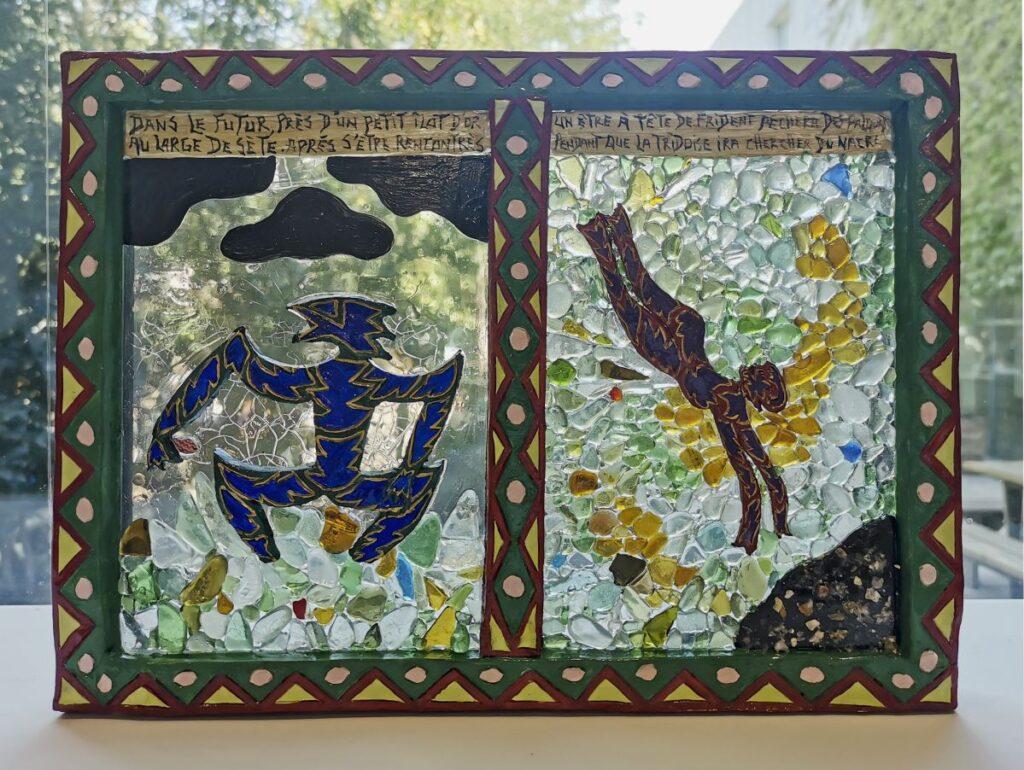 Aldo Biascamano - Mythologie du passé, du présent et du futur de la ville de Sète, 2020-2021 - SOL ! La biennale du territoire au MOCO Panacée