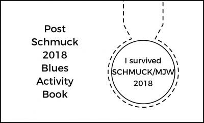 Post Schmuck Blues Activity Book
