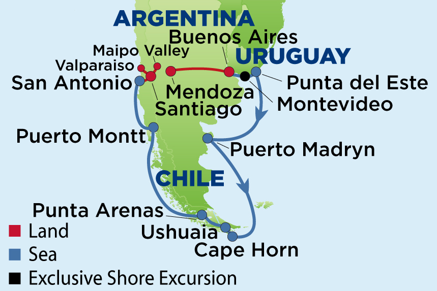 EJ to Wine Regions of Argentina & Chile