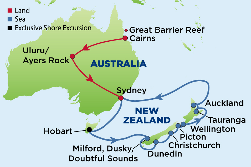 EJ to the Australian Outback & New Zealand
