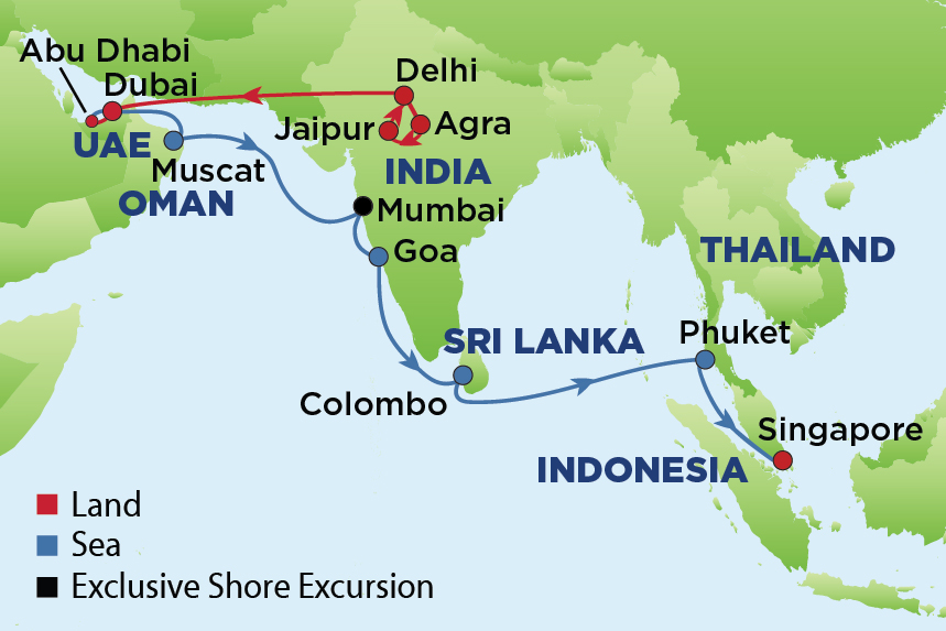 Journey to the Ancient Spice Routes of India, Dubai and ...