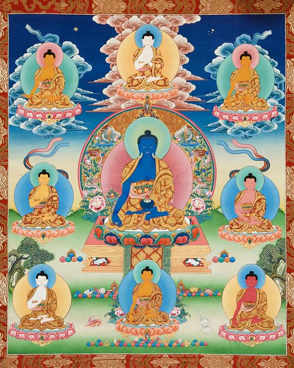 8 Buddha medicina