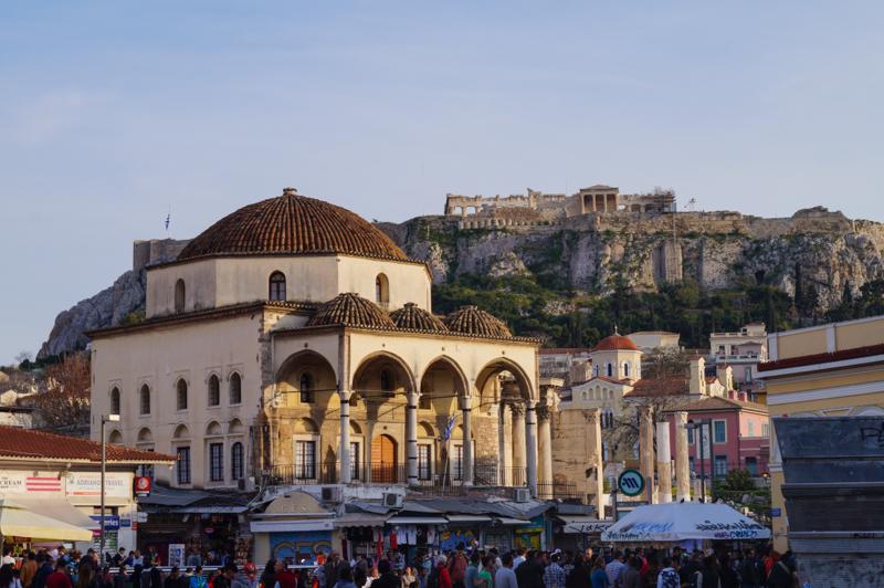 Atene ,Piazza Monastiraki