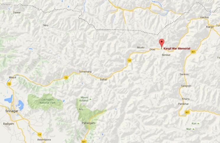Mappa Kargil