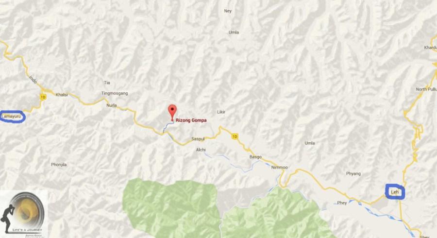 mappa rizong