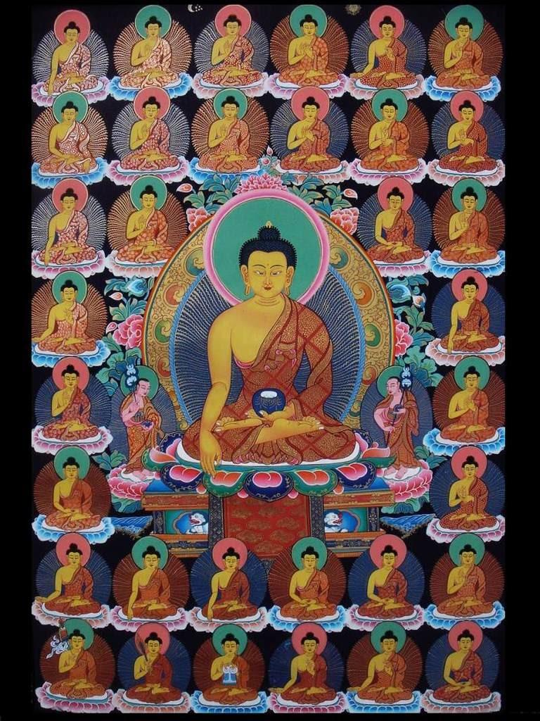 35 buddha delle confessioni