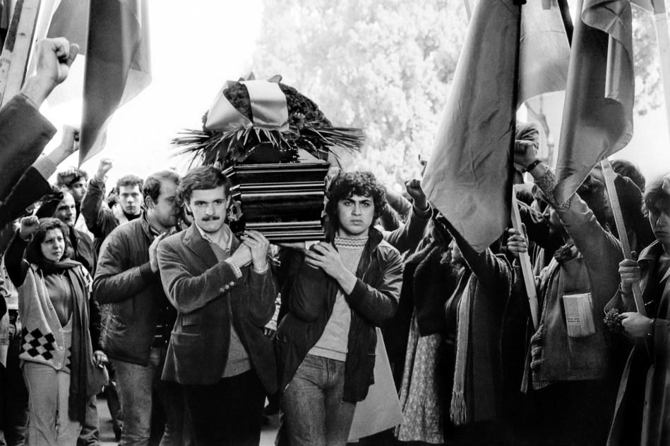 Bologna, 14 marzo 1977. I funerali di Francesco Lorusso