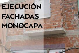 Ejecución de fachadas monocapa