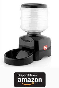Alimentador automático de mascotas dispensador programable temporizado Tazón 5.5L.