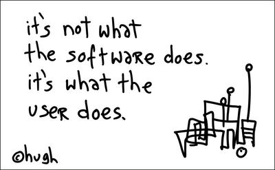 It's not what the software does... (Gapingvoid)