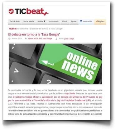 El debate en torno a la 'tasa Google' - TICBeat