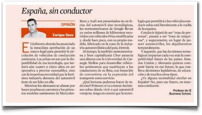 España, sin conductor - Expansión (pdf)