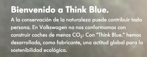 Think Blue - Volkswagen