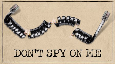 Don't spy on me