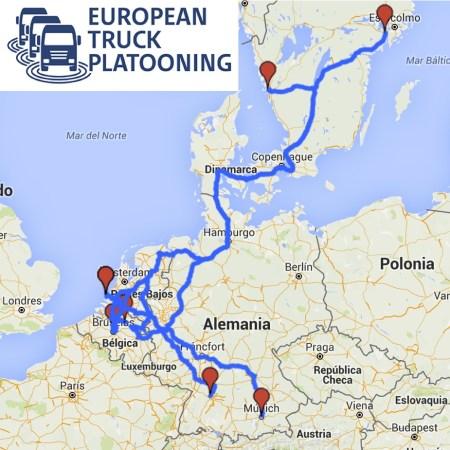 European Truck Platooning