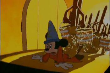 Sorcerer's apprentice (IMAGE: Disney)