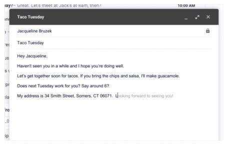 Gmail Smart Compose (IMAGE: Google)