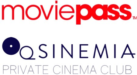 MoviePass and Sinemia logos