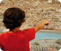 búsqueda del tesoro en roma con niños