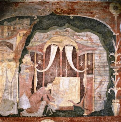 fresco del milagro de San Clemente en el Mar de Azov