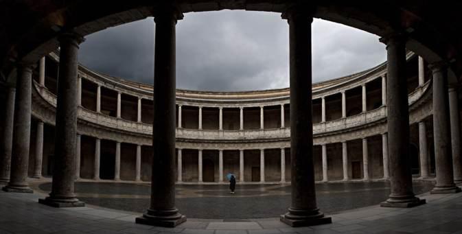 palacio carlos V en la Alhambra