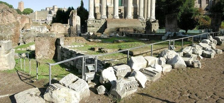 Regia foro romano