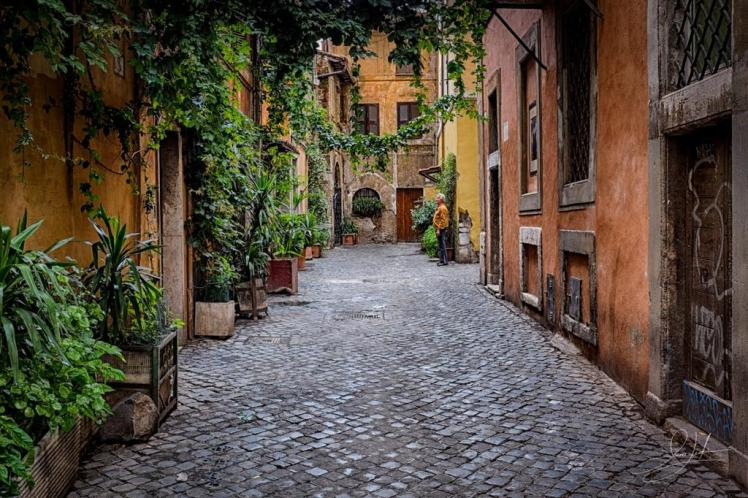 callejuelas de trastevere tour roma