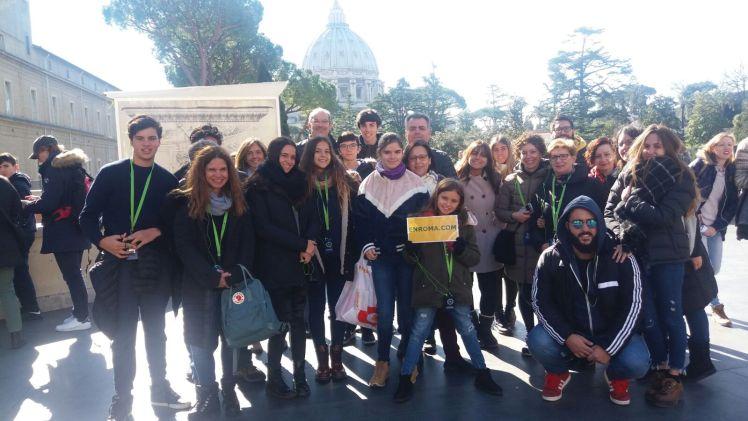 visita el vaticano y coliseo en dos días