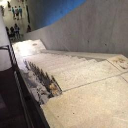 Escalier de sortie d'une des tours