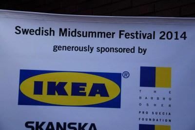 Une fête suédoise sans Ikea, ce n'est pas réussi :-)