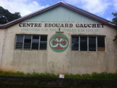 Le centre national des Scouts du Vanuatu