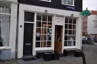 Un des nombreux Coffeeshop d'Amsterdam