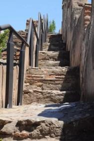 Chemin de ronde - Castillo de Gibralfaro
