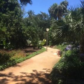 Paseo del parque à Malaga
