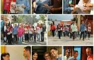 Jesús Araque, candidato al CLEBM, hace recorrido por parroquias de Mérida