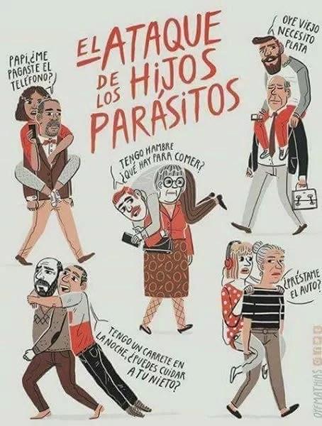 Mierda!: una plaga asola a España: los «hijos parásito»...