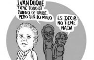 El narco-paraco Iván Duque llama dictador al Presidente Maduro y pide intervención contra Venezuela, y ahora pide que los respeten: cursi, coño!