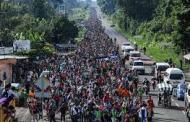 Donald Trump advirtió este sábado que los migrantes centroamericanos, que buscan llegar a Estados Unidos,