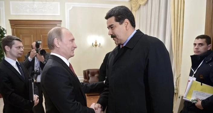 Previendo acontecimientos... los presidentes Maduro y Putin se encuentran en Moscú...