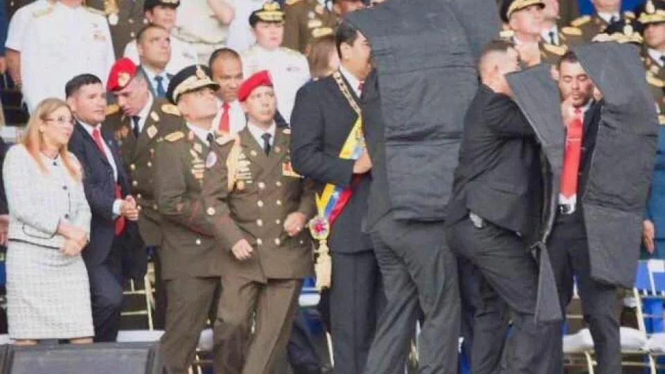 CONDENAR EL INTENTO DE ASESINATO DEL PRESIDENTE NICOLÁS MADURO  CONTRA EL IMPERIALISMO, SOMETER A TODAS SUS CLASES DEPENDIENTES
