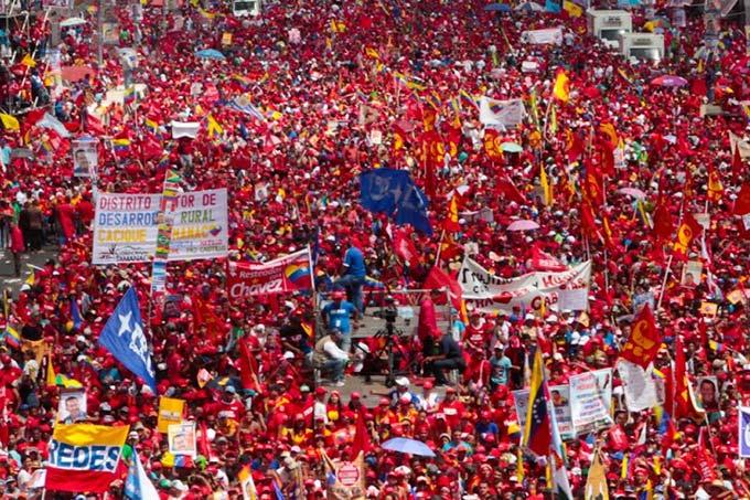 Comunicado del pueblo chavista...