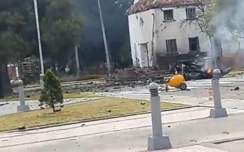 ALERTA!: Horror en Bogotá, activan bomba y matan a 8 policías... escuálidos cojan para allá...