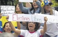 Una protesta escuálida