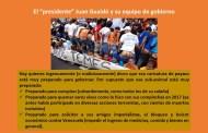 GUAIDÓ CREE QUE PELANDO EL ORTO Y APOYADO POR EE UU, VA A SER LA MADRE DE TODOS LOS