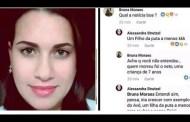 "Miseria fascista: Famosa provida bolsonarista celebró muerte de nieto de lula ""Buena noticia, un hijo de puta menos"""